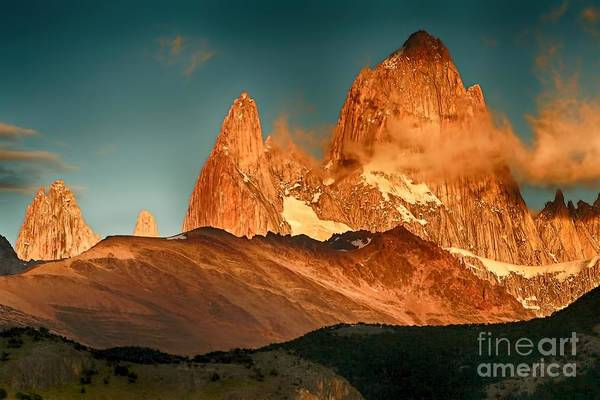 Photograph - Fitz Roy by Karla Weber
