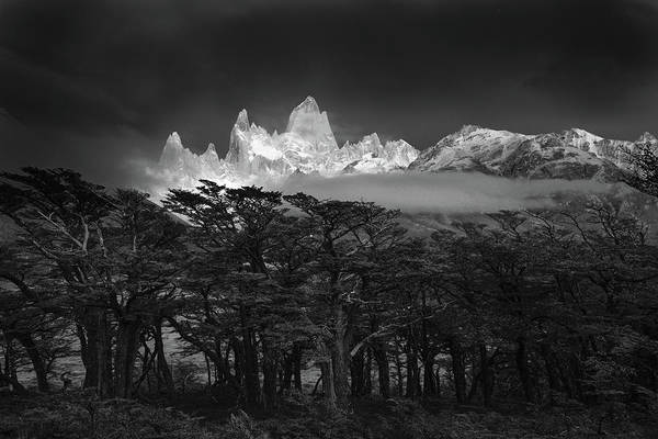 South American Photograph - Fitz Roy by Lucian Constantin