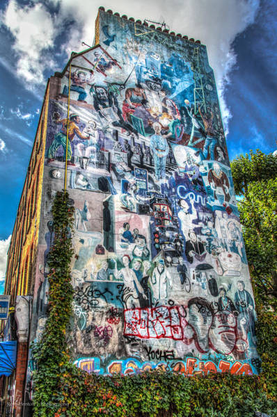 Photograph - Fitzrovia Mural by Ross Henton