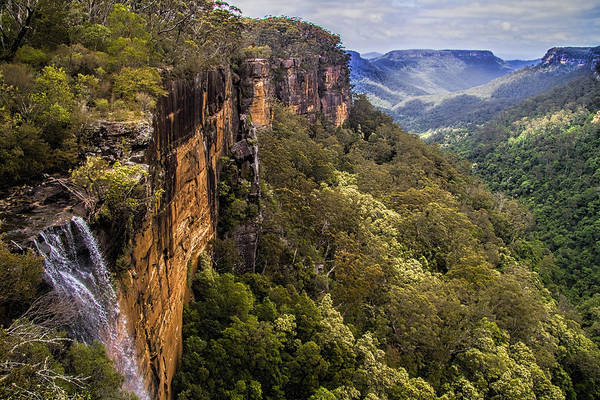Wall Art - Photograph - Fitzroy Falls In Kangaroo Valley Australia by David Smith
