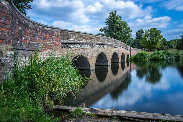 Photograph - Five Arches Bridge. by Gary Gillette