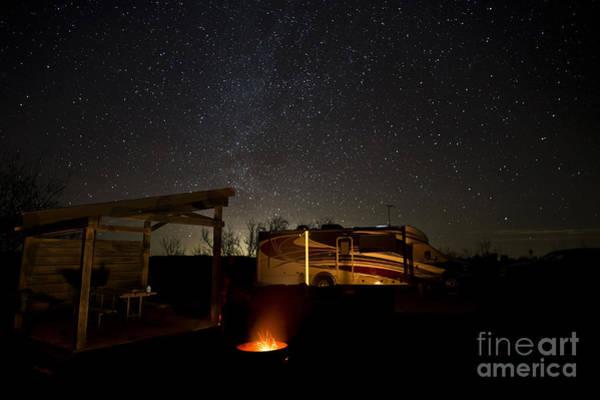 Photograph - Five Billion Star Hotel by Melany Sarafis