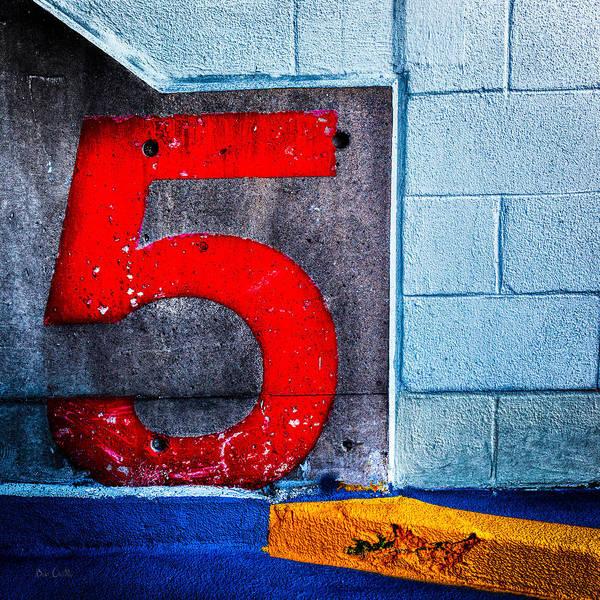Photograph - Five by Bob Orsillo