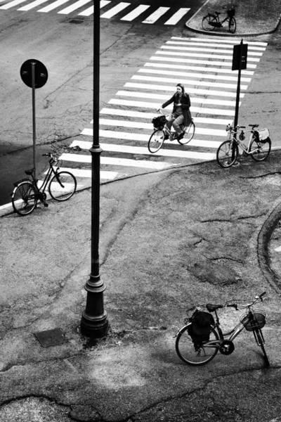 Wall Art - Photograph - Five City Bikes by Franco Maffei