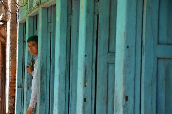 Nepal Wall Art - Photograph - Five Doors Down by Aaron Bedell
