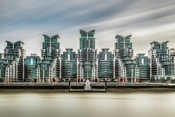 Photograph - Five - St Georges Wharf London by Paul Baggaley