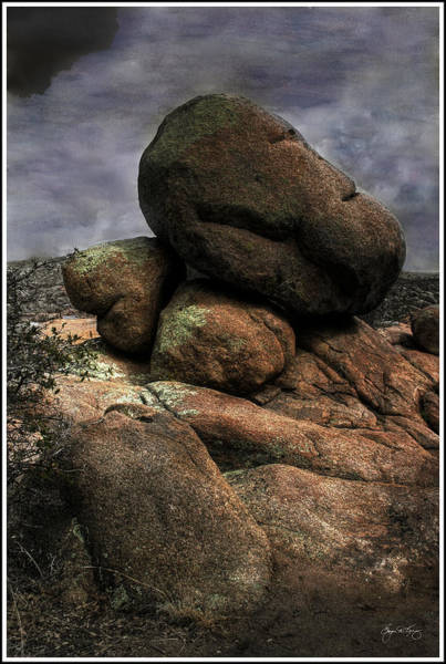 Photograph - Five Stones by Wayne King