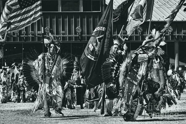 Wall Art - Photograph - Flag Dancers Opening Ceremony by Scarlett Images Photography