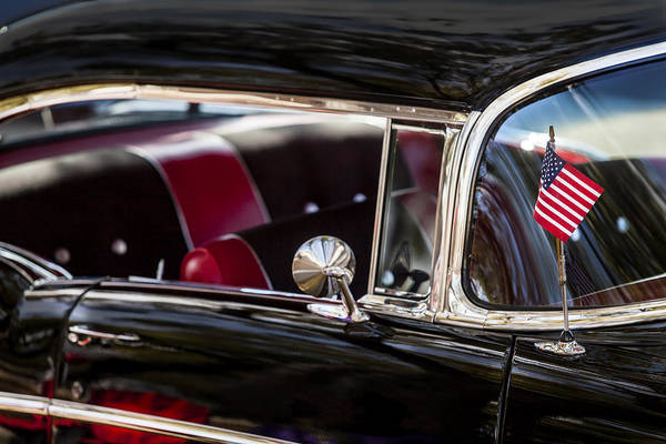 Photograph - Flag Flying 1957 by Melinda Ledsome