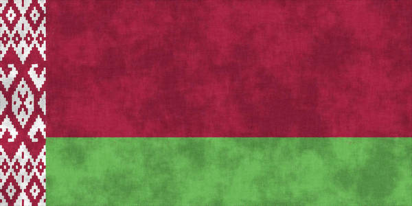 Wall Art - Digital Art - Flag Of Belarus  by World Art Prints And Designs