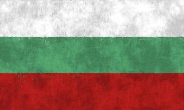 Wall Art - Digital Art - Flag Of Bulgaria by World Art Prints And Designs