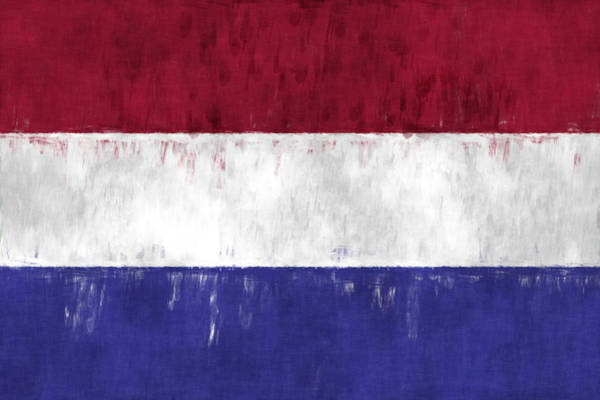 Wall Art - Digital Art - Flag Of The Netherlands by World Art Prints And Designs