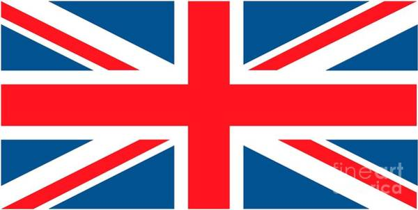 Identity Painting - Flag Of The United Kingdom by Anonymous