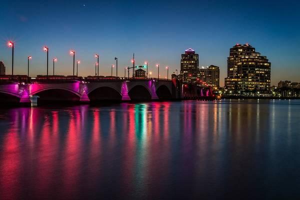 Photograph - Flagler Bridge Awareness by Lynn Bauer