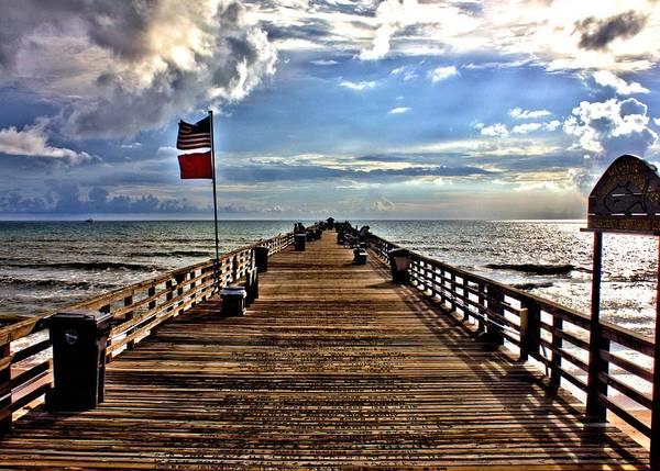 Photograph - Flagler Pier by Tyson Kinnison