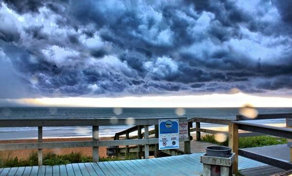 Photograph - Flagler Storm by Tyson Kinnison