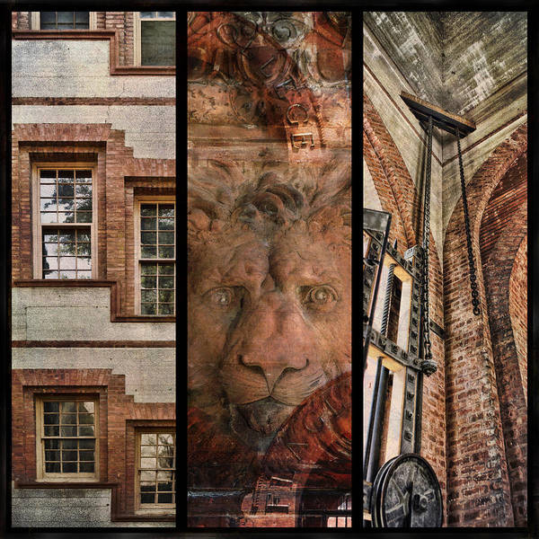 Photograph - Flagler Triptych St Augustine by Evie Carrier