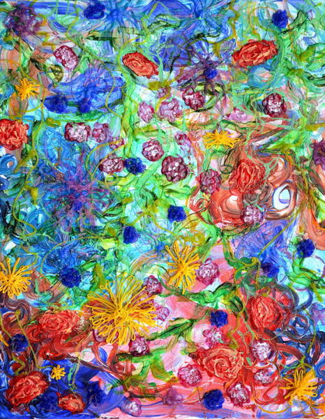 Painting - Flagrantly Floral by Regina Valluzzi