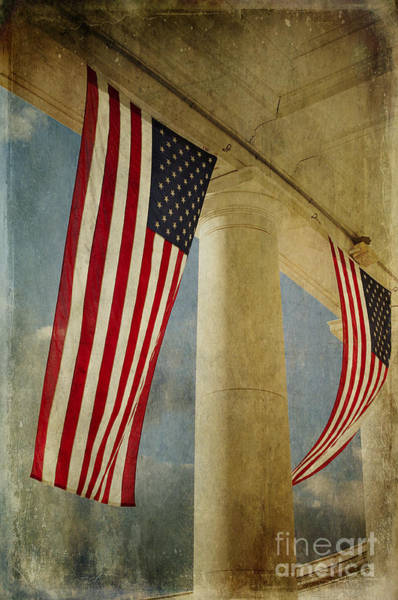 Photograph - Flags Over Arlington by Terry Rowe