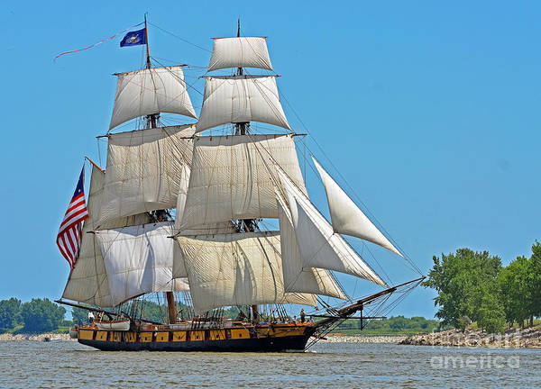 Photograph - Flagship Niagara by Rodney Campbell