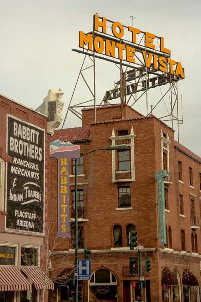 Photograph - Flagstaff Downtown by Steven Lapkin