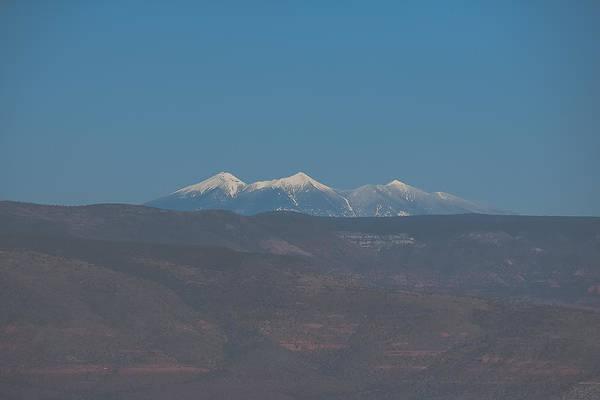 Photograph - Flagstaff Peaks by Steven Lapkin