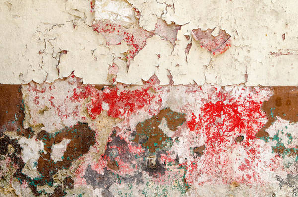 Photograph - Flaking Paint Abstract. Havana Cuba. by Rob Huntley