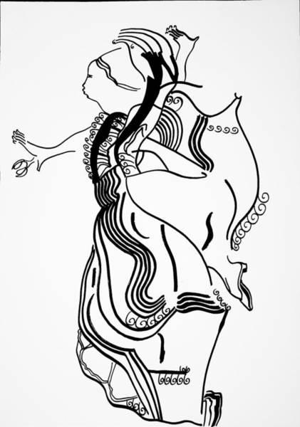 Flamenco Dance Art Print