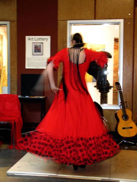 Photograph - Flamenco Dancer by Gerry Bates