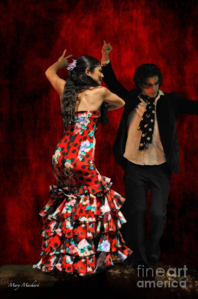 Passionate Photograph - Flamenco Series #9 by Mary Machare