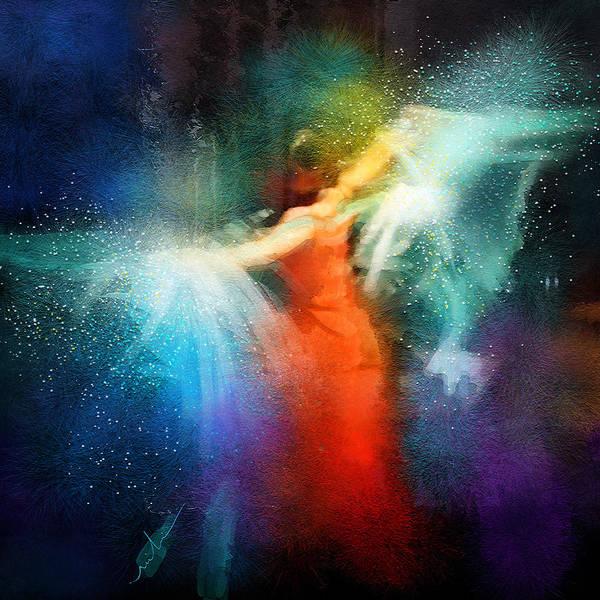 Painting - Flamencoscape 01 by Miki De Goodaboom