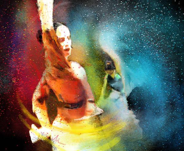 Painting - Flamencoscape 08 by Miki De Goodaboom