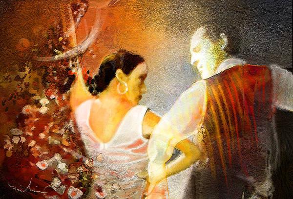 Painting - Flamencoscape 10 by Miki De Goodaboom