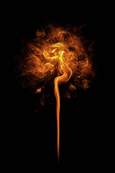 Inferno Wall Art - Photograph - Flames by Dem10