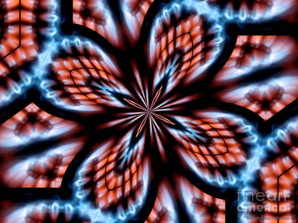 Photograph - Flames Kaleidoscope 2 by Rose Santuci-Sofranko