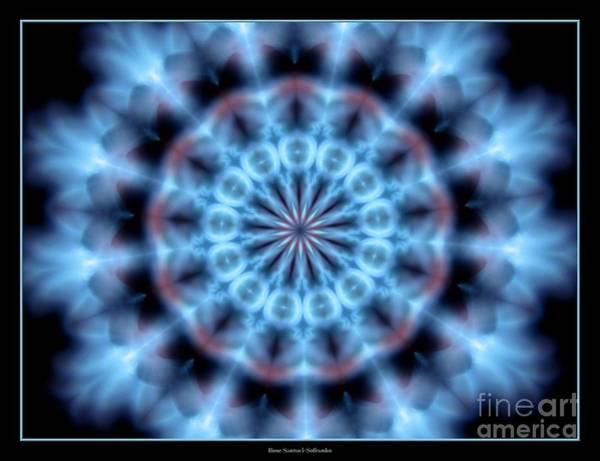 Photograph - Flames Kaleidoscope 4 by Rose Santuci-Sofranko