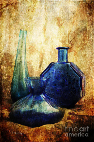 Photograph - Flaming Blue by Randi Grace Nilsberg