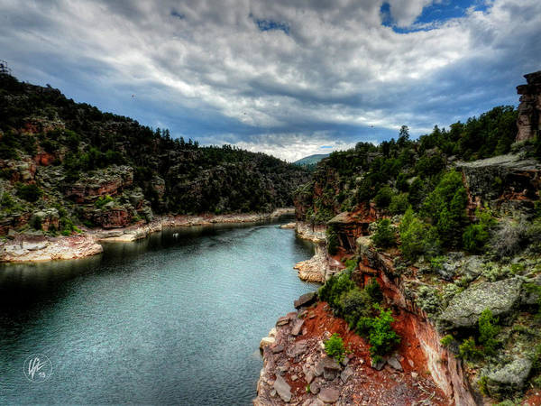 Photograph - Flaming Gorge - Cart Creek 001 by Lance Vaughn