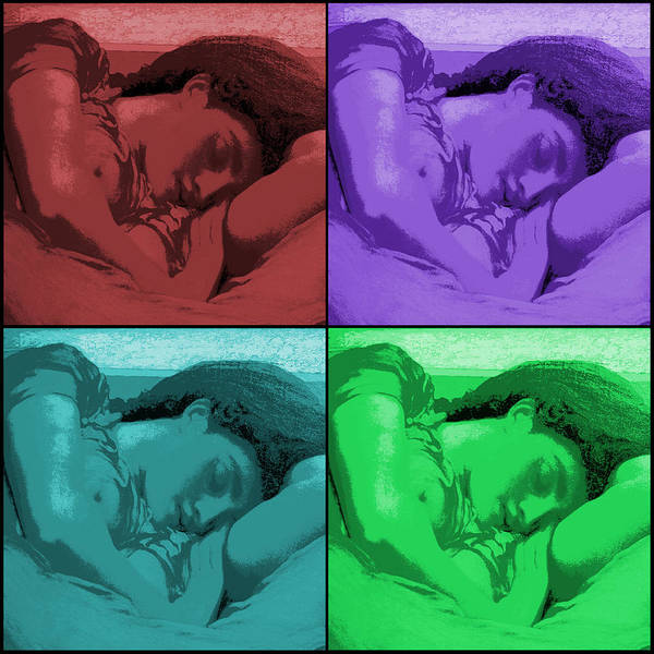 Photograph - Flaming June Revisited  by Richard Reeve