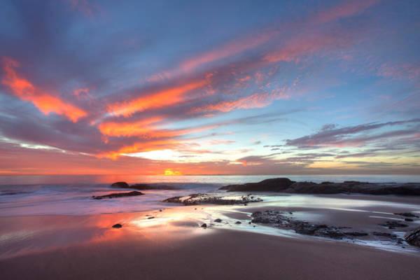 Photograph - Flaming Sky by Cliff Wassmann