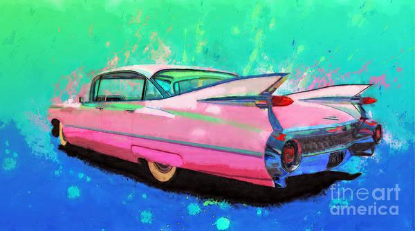 Wall Art - Painting - Flamingo by Alan Greene