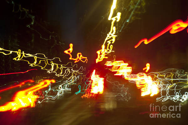 Photograph - Flare Of Lights by Charmian Vistaunet