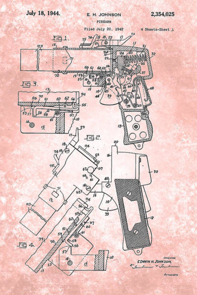 Painting - Flare Signal Patent From 1931 by Celestial Images