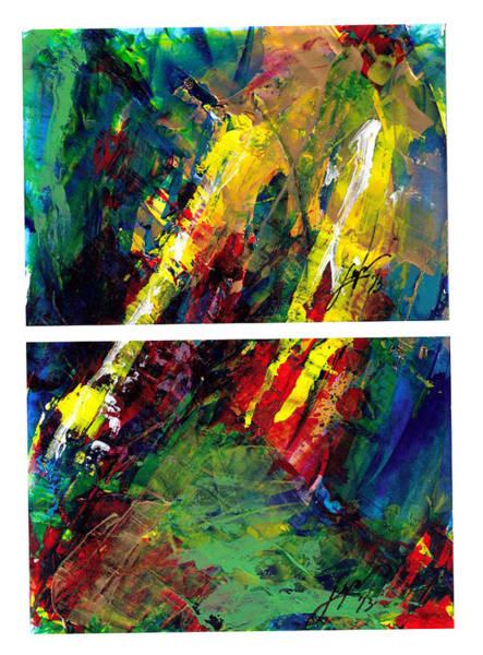 Painting - Flash Diptyk by Thomas Lupari