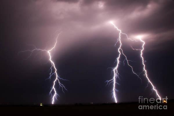 Photograph - Strike 3 by Jim McCain