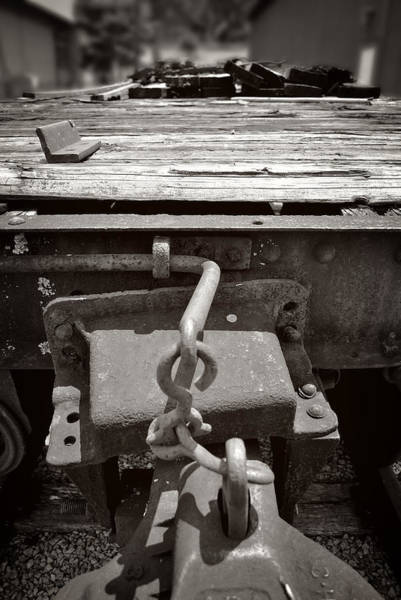 Photograph - Flat Car And Hitch by George Taylor