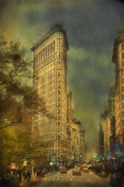Wall Art - Photograph - Flat Iron Building by Kathy Jennings