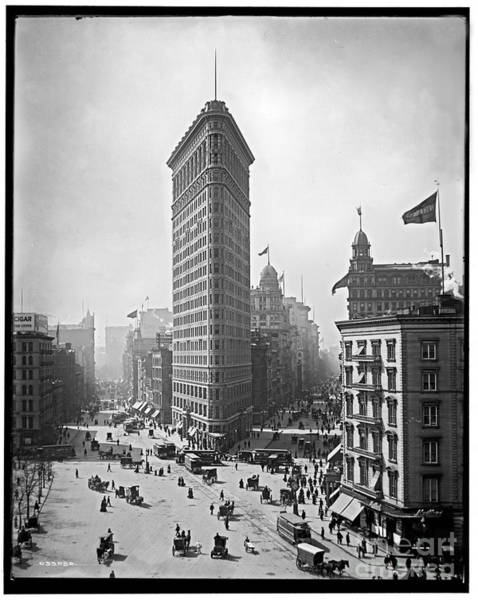 Photograph - Flatiron Building by Russell Brown