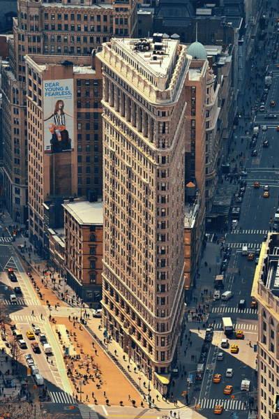 Photograph - Flatiron Building by Songquan Deng