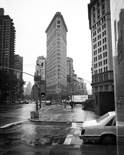 Photograph - Flatiron Rainy Day by Dave Beckerman